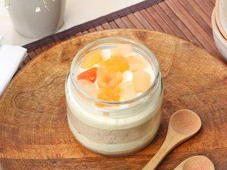 Fruit Single Jar Cake