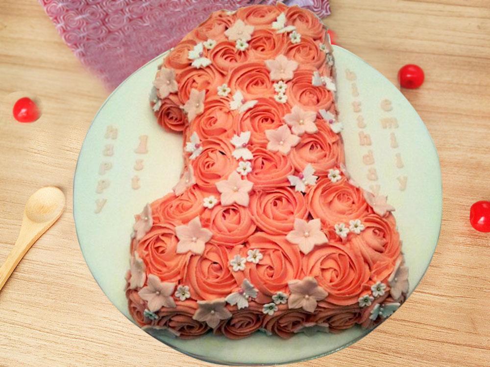1st Anniversary Party Cream Cake