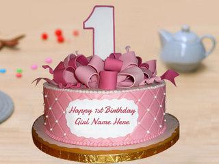 One Year Birthday Cake