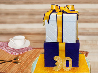 2 Tier Box Party Cake