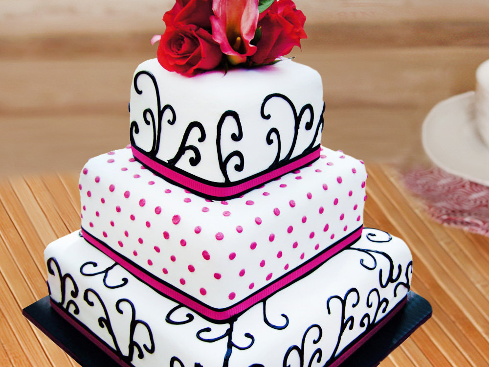 3 Tier Party Cake