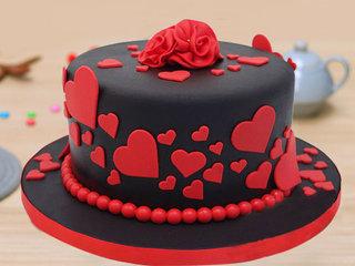 Fondant Round Cake