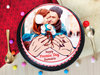 A promise day special photo cake