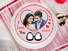 A propose day special photo cake