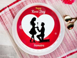 rose day cake