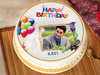 Birthday Photo Cake For Husband