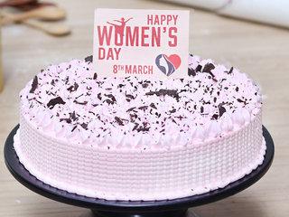 Women's Day Cream Cake