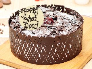 Bhai Dooj Choco Black Forest Cake