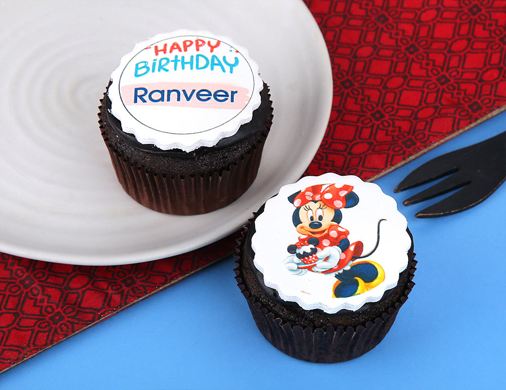 Birthday Personalised Cupcakes