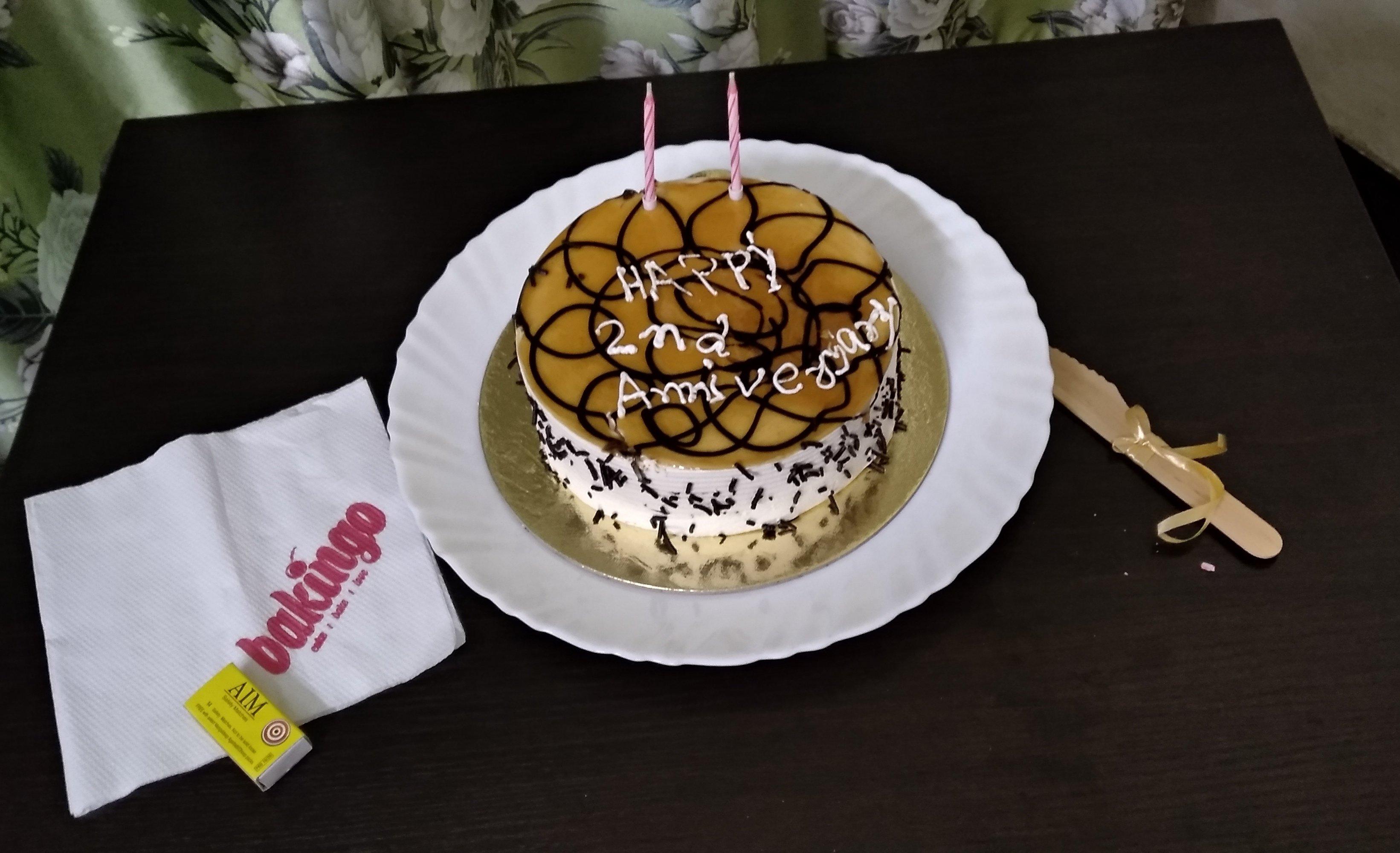 Custom HBD Frozen Cake