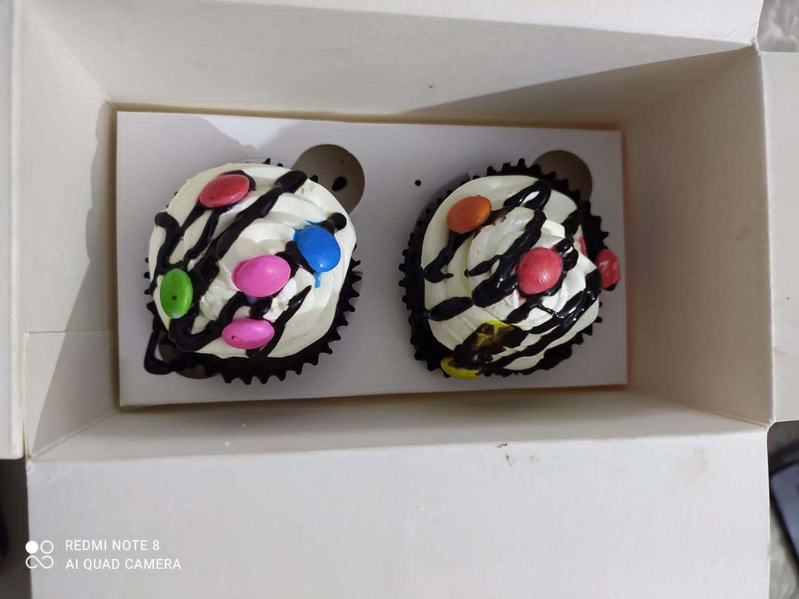 Choco Vanilla Cupcake