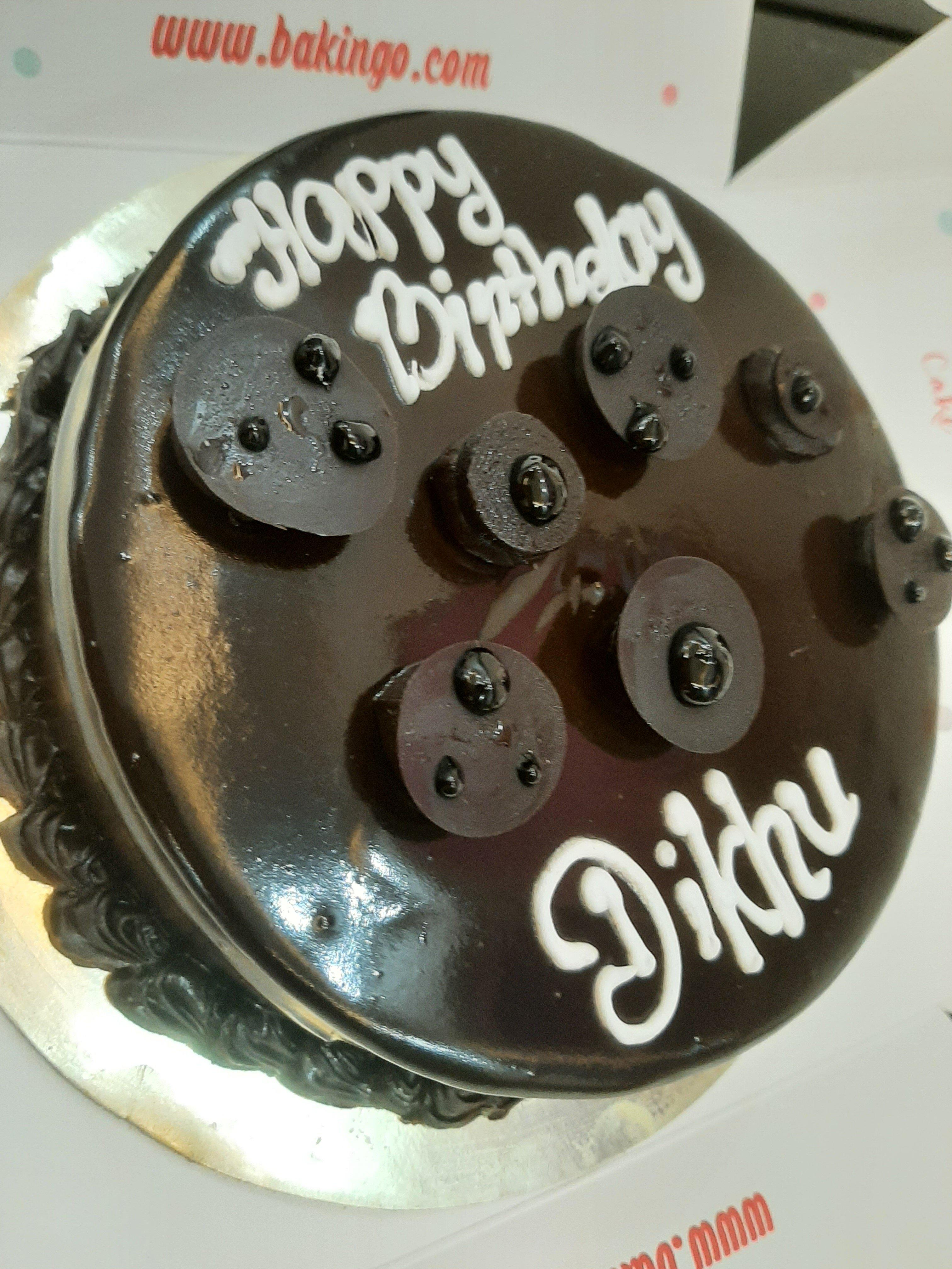 Enticing Dark Chocolate Cake