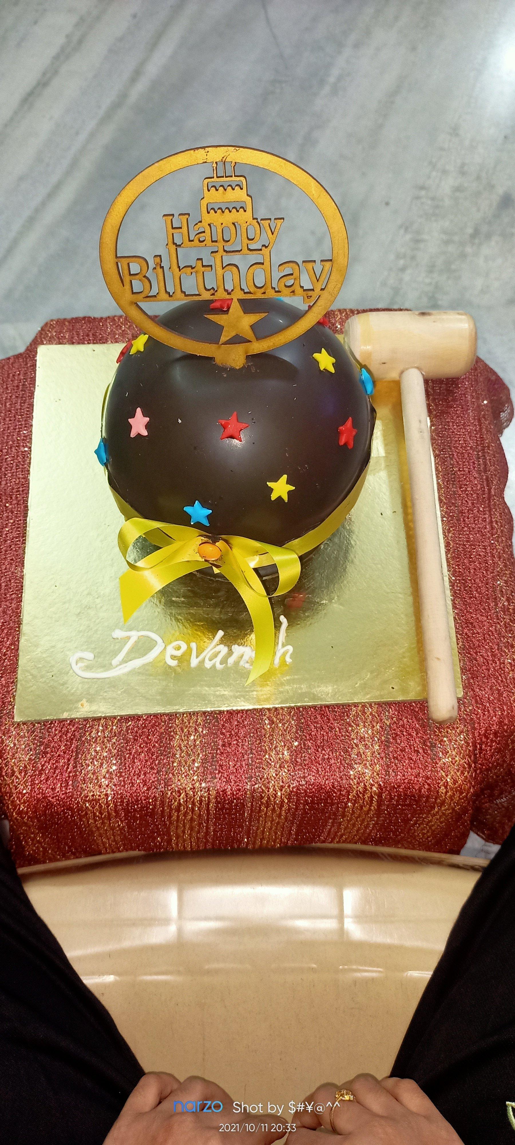 Birthday Chocolate Overload Pinata Cake (750 gm)