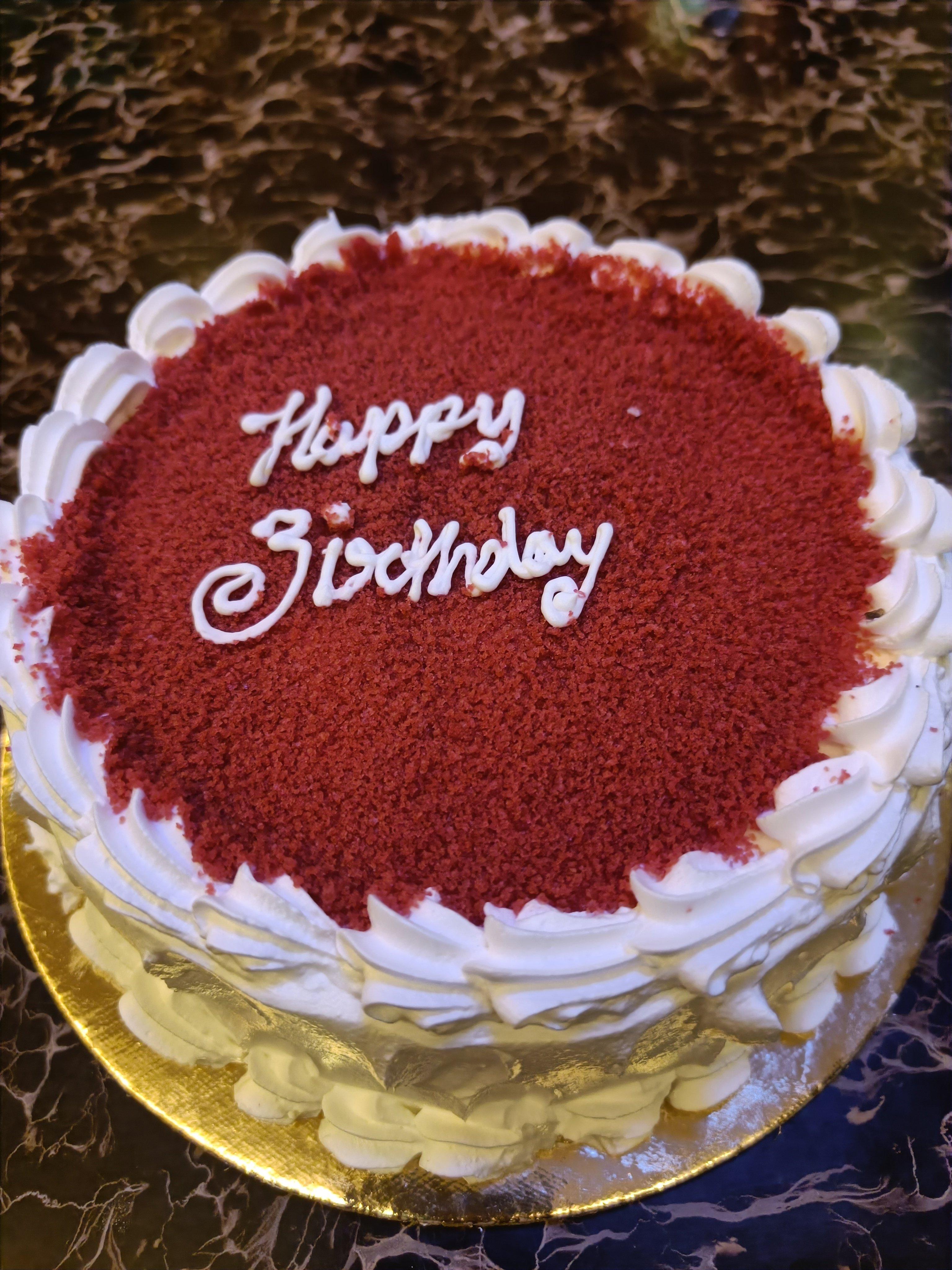 Red Velvet Buttercream Creamy Cake