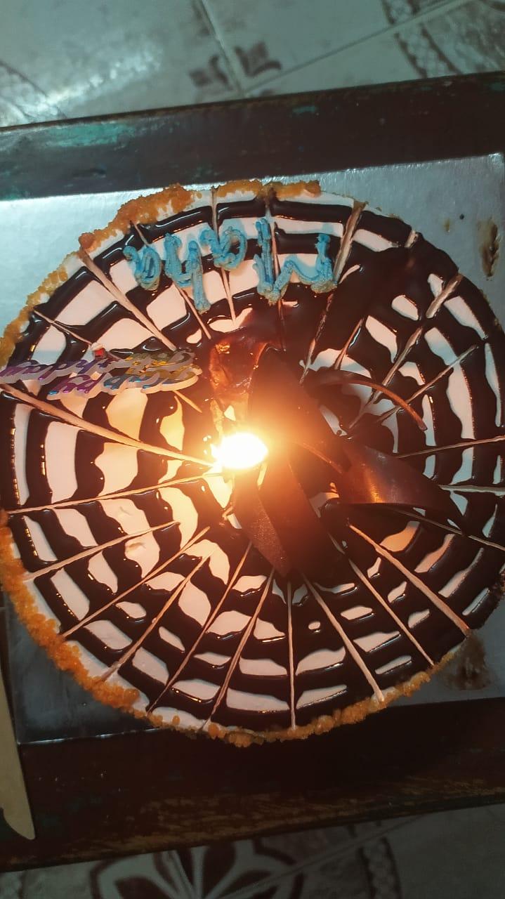 Round Shape Butterscotch Cake