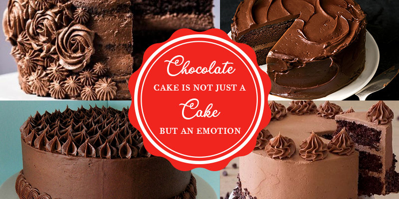 Chocolate Cake is Not Just a Cake But an Emotion