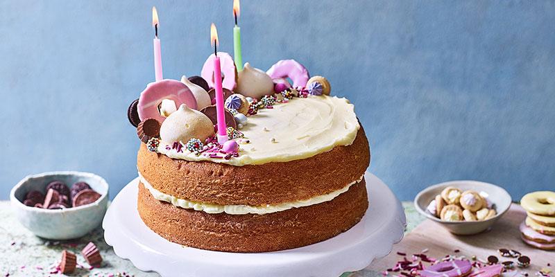 Easy Homemade Birthday Cake Ideas