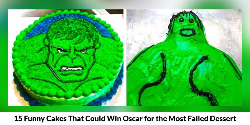 15 Funny Cakes That Could Win Oscar for the Most Failed Dessert