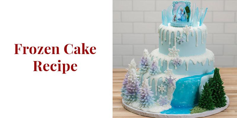 Frozen Cake Recipe