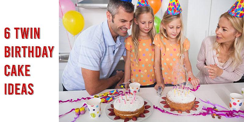 6 Twin Birthday Cake Ideas