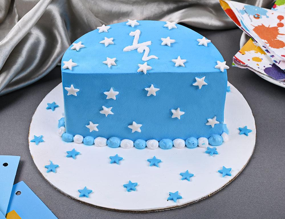 Bright Star Half Cake