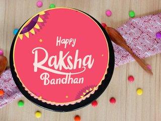 The Rakhi Poster Cake