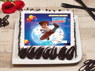 Chhota Bheem Birthday Poster Cake