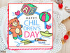 Childrens Day Poster Cake