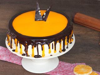 Order Choco Orange Cake Online in Hyderabad
