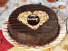 Chocolate Anniversary Cake