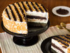 Sliced View of Chocolate Butterscotch Cake