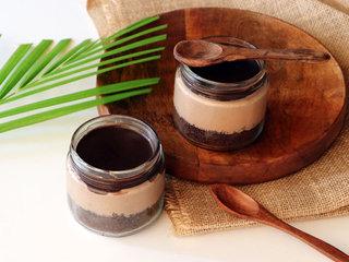 Chocolate Mousse Jar Cake