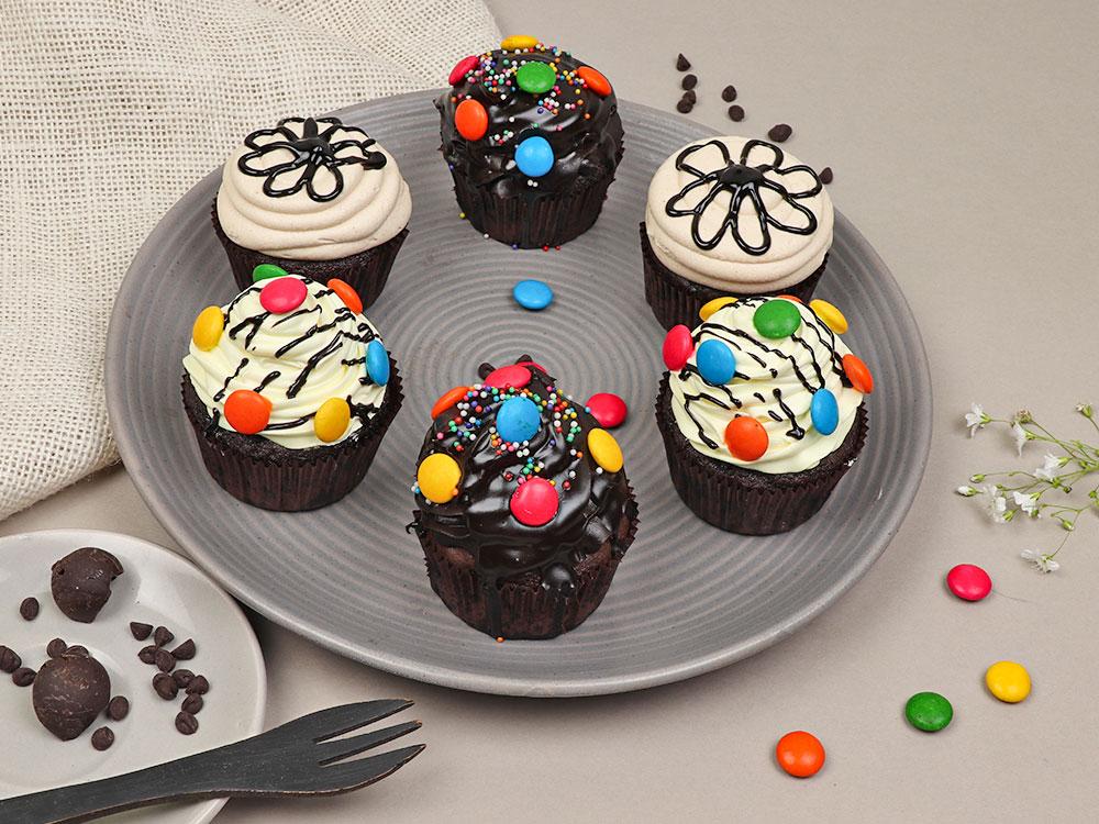 Medley of Cupcakes