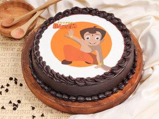 Chota Bheem Poster Cake