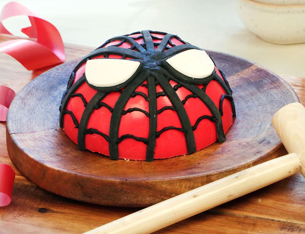 Spiderman Pinata Cake in Chocolate Flavour