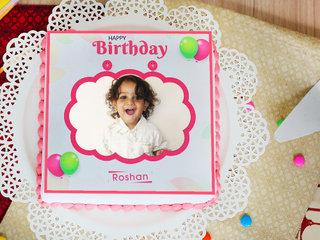 Cuteness Overload photo cake for birthday