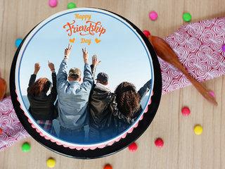 Yummy Personalised Photo Cake