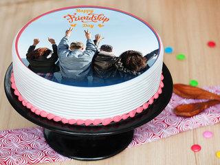 Delicious Personalised Photo Cake