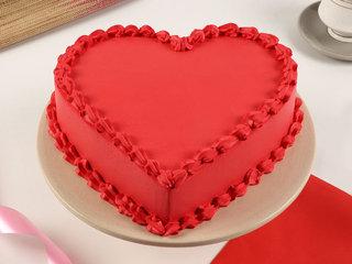 Red Velvet Vegan Cake