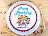 Delightful Doraemon Delicacy Chocolate Poster Cake