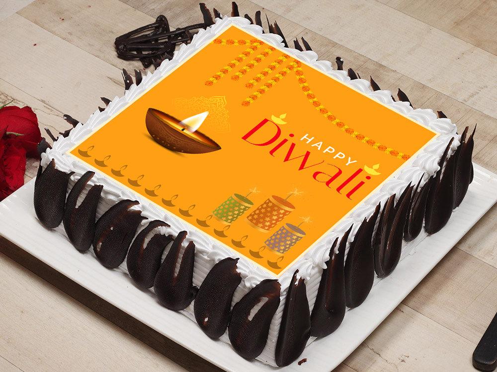 Diwali Poster Cake
