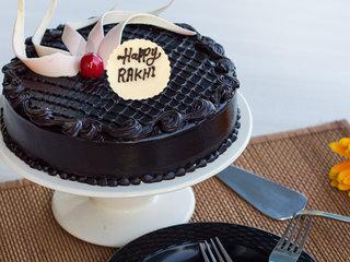 Doting Delight Rakhi Special Cake