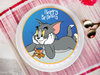 Tom N Jerry Poster Cake