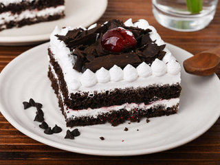 Extravagant Black Forest Pastry