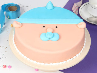 First Birthday Theme Cake