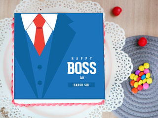 The Perfect Suit Boss Cake