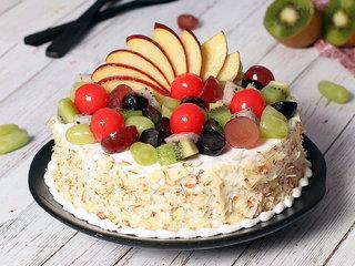 Fresh Fruit Cake Availabe in Noida