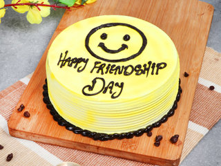 BFF Delight - A Friendship Day Cake