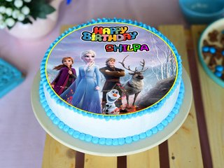 Frozen Poster Cake