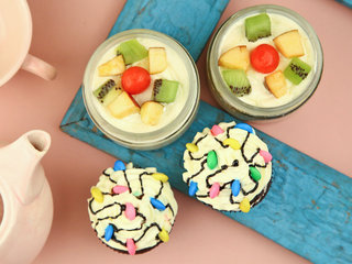 Fruit Jar Cake 200 ml N Choco Vanilla Cupcake